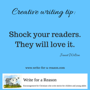 creative writing tip