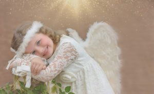 angelic little girl